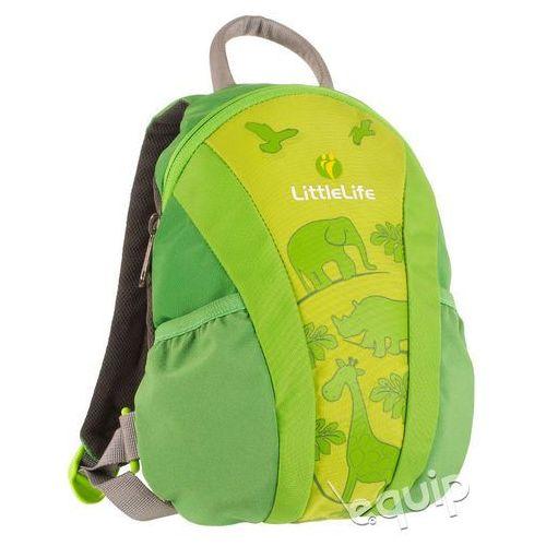 Plecaczek LittleLife Runabout - Green, kolor zielony