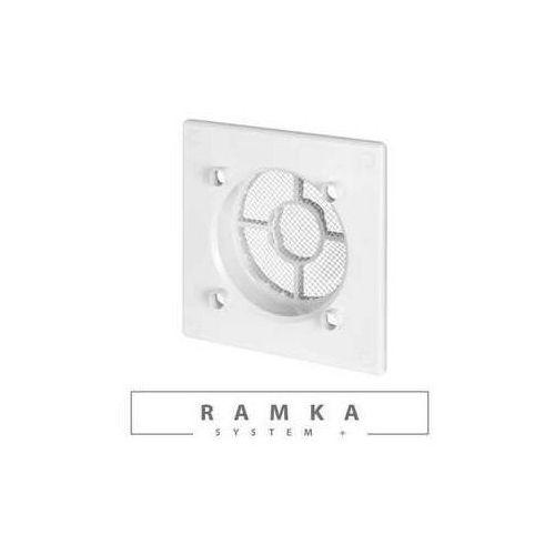 Ramka kratka wentylacyjna Awenta RWO125 do panelu fi125mm biała (5905033318984)
