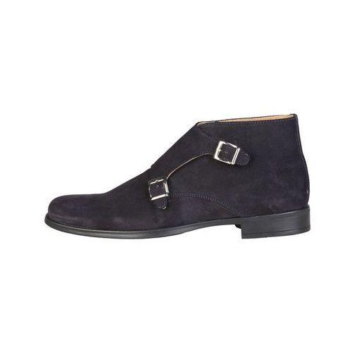 Płaskie buty męskie PIERRE CARDIN - FERDINAND-17, FERDINAND_BLEU-43