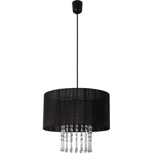 Lampa wisząca wenecja czarna 153/1 cza - czarny marki Lampex
