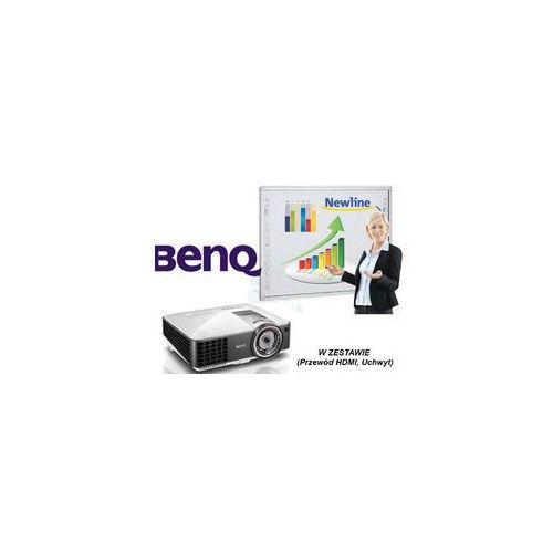 Interwrite Tablica dualboard 1279 + projektor ultrashort benq mx 842ust + uchwyt ścienny benq