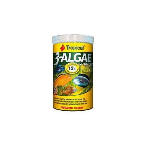 Tropical 3-algae granulat - pokarm z algami dla ryb roślinożernych 250ml/95g (5900469605141)