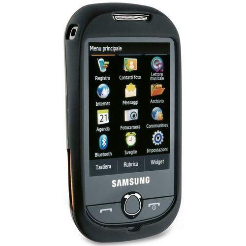 Etui CELLULAR LINE Penguyn do Samsung Corby S3650 Czarny, kolor czarny