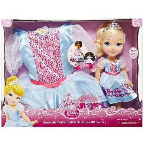 Lalka kopciuszek + sukienka dla dziewczynek marki Jakks pacific