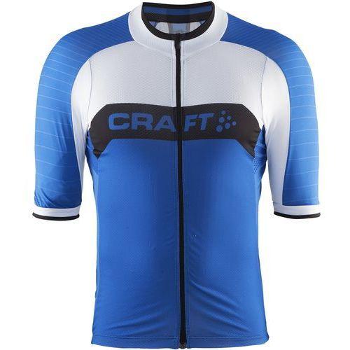 Craft męska koszulka rowerowa gran fondo niebieski l