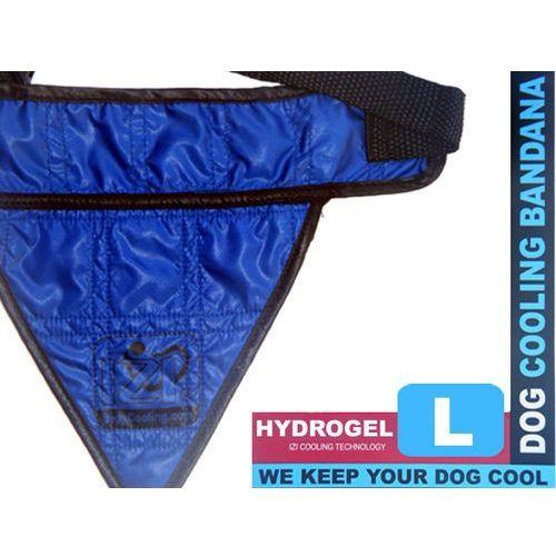 Bandamka dla psów z chłodzącym hydrożelem niebieska L