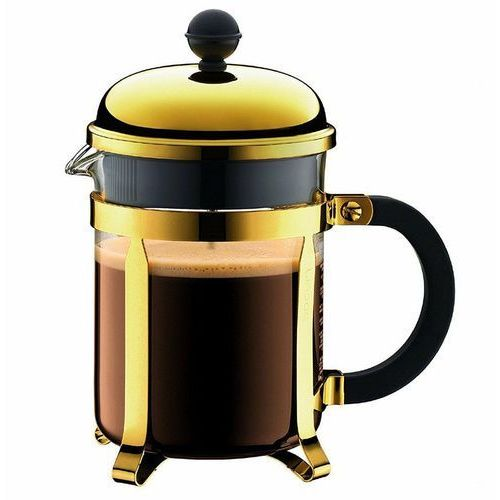 BODUM - Chambord - Tłokowy zaparzacz do kawy 0,5 l - Złoty