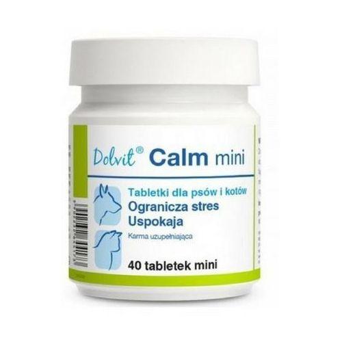 Dolfos dolvit calm mini - preparat uspakajający dla kotów i małych psów 40 tabl. (5902232644173)