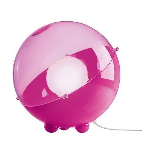 Orion - lampa stojąca różowy/różowy przezroczysty marki Koziol