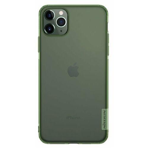Nillkin Nature żelowe etui pokrowiec ultra slim iPhone 11 Pro Max zielony