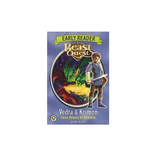 Beast Quest: Early Reader Vedra & Krimon Twin Beasts of Avan, Blade, Adam