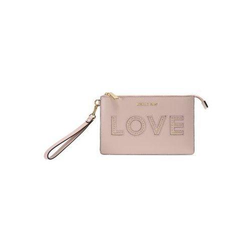 MICHAEL Michael Kors GUSSET WRISTLET Kopertówka soft pink, 32H7GFDW2O