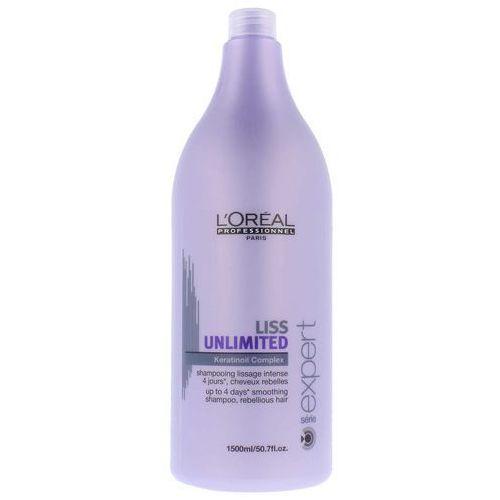 Loreal liss unlimited szampon 1500ml oczyszcza i pielęgnuje włosy grube i trudne do ułożenia (3474630535190)