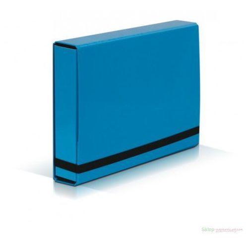 Vaupe Teczka szeroka  box 341 5cm z gumką - j.nieb