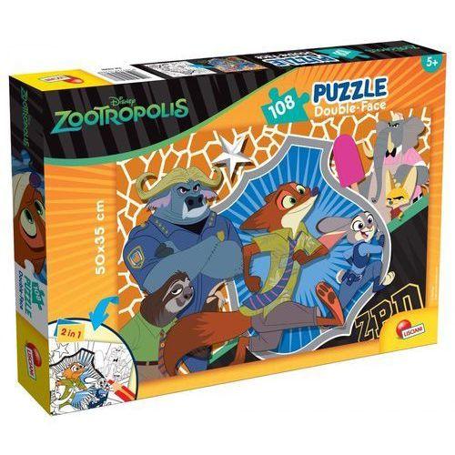 Puzzle dwustronne Zwierzogród 108