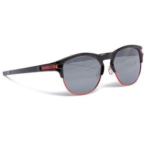 Okulary przeciwsłoneczne - latch key oo9394-0555 polished black/prizm black iridium marki Oakley