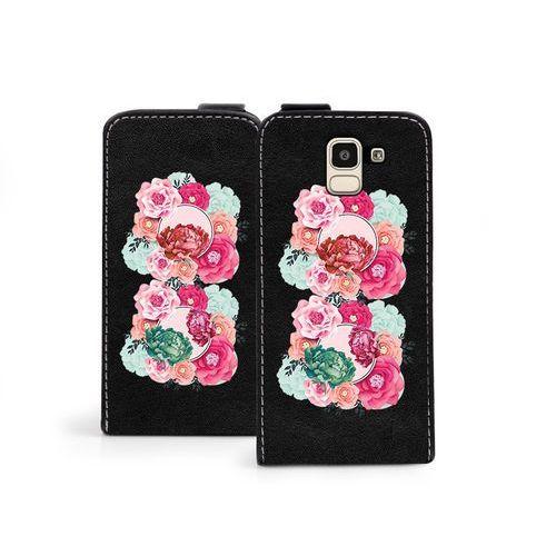 Samsung Galaxy J6 - etui na telefon Flip Fantastic- róże