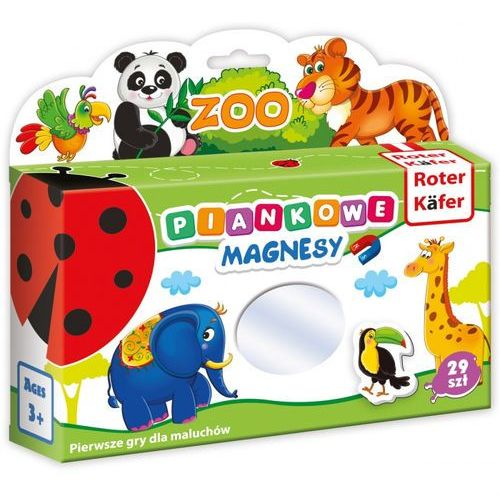 Mój mały świat magnesów Zoo, RK2101-06