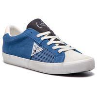 Tenisówki GUESS - Statement FM6STA SUE12 BLUE, kolor niebieski