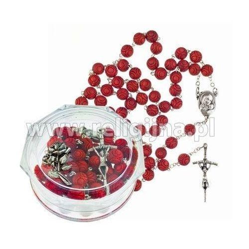 Różaniec drewniany pachnący olejkiem różanym marki Praca zbiorowa