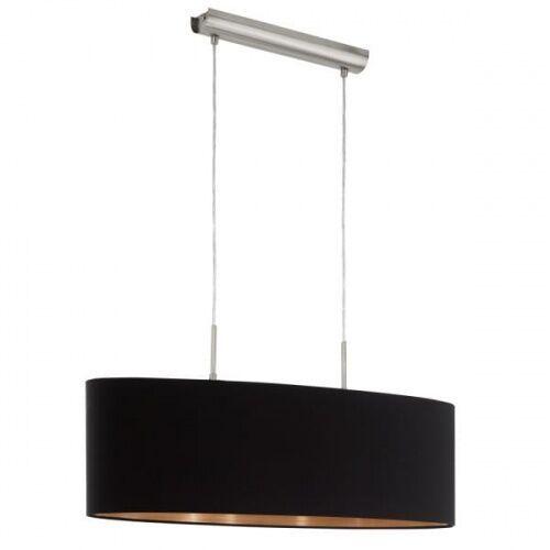 Lampa wisząca pasteri 94915 abażurowa oprawa zwis czarny marki Eglo
