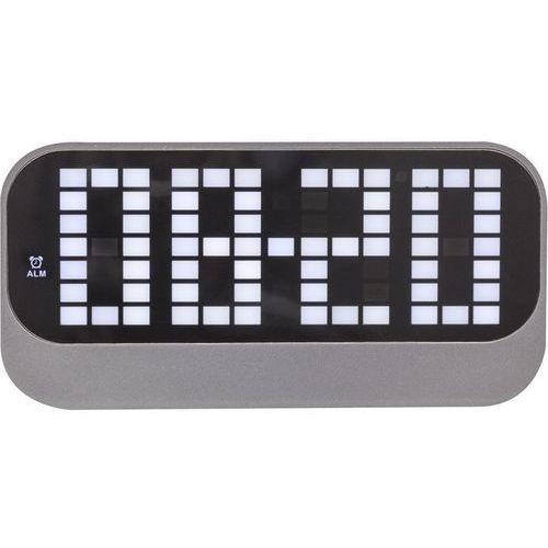 - zegar stojący loud alarm - czarny marki Nextime