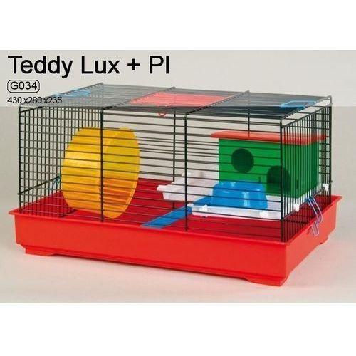 Inter-zoo Teddy Lux G034 klatka dla chomika z wyposażeniem 43x28x23,5cm