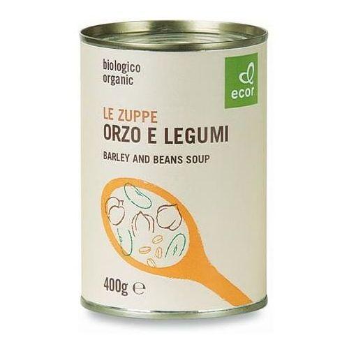 Zupa z warzyw strączkowych i jęczmienia BIO 400 g Ecor (8019010231283)