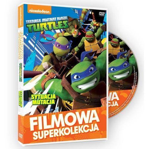 Wojownicze Żółwie Ninja. Filmowa superkolekcja. Sytuacja mutacja z kategorii Pakiety filmowe
