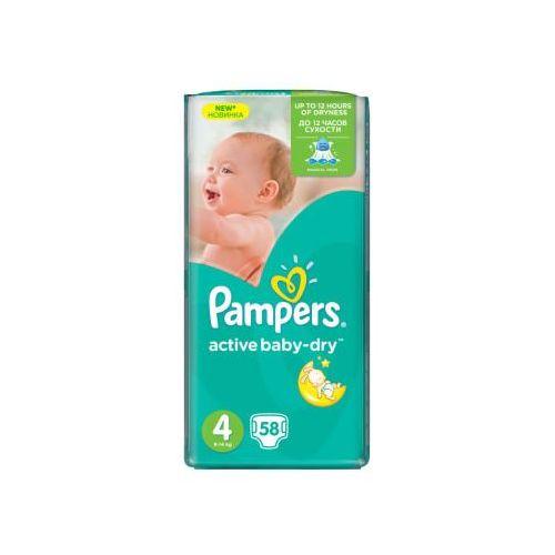 Pampers active baby-dry pieluchy 4 maxi 58szt pieluszki. Najniższe ceny, najlepsze promocje w sklepach, opinie.