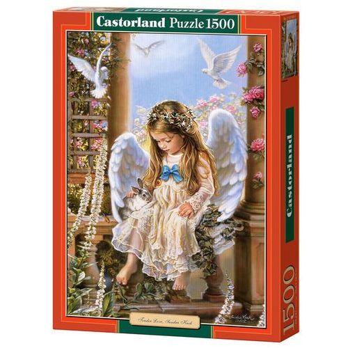 Puzzle 1500 Aniołek i zwierzaki CASTOR (5904438151165)