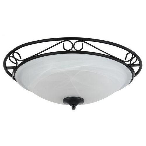 Plafon lampa sufitowa athen 3x60w e27 biały/czarny 3723 marki Rabalux