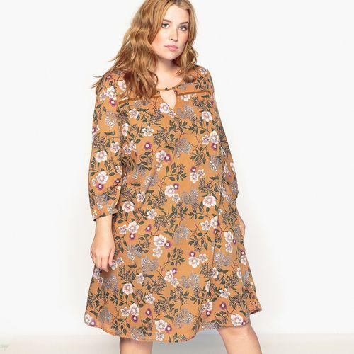 Długa sukienka z długim rękawem, Castaluna