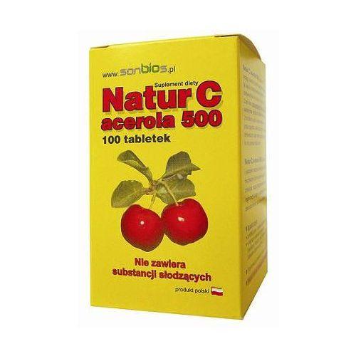 Acerola 500 - naturalna witamina C (100 tabletek)