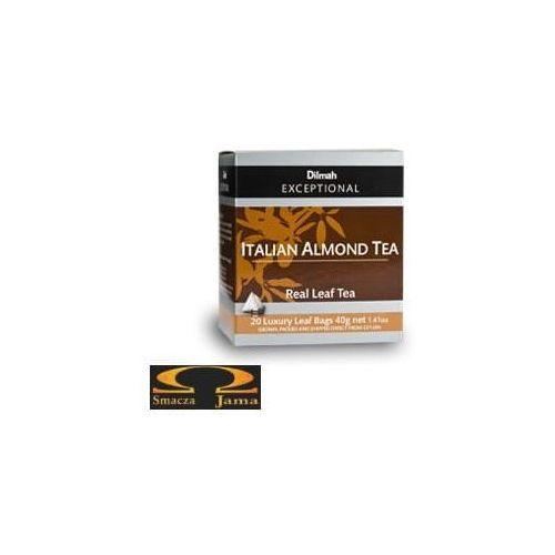Herbata Dilmah Italian Almond Tea - migdałowa 20 torebek