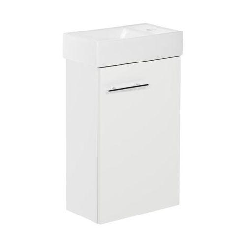 Zestaw szafka z umywalką SMALL 40 cm DSM Biały połysk (5906365478179)