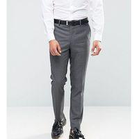 Farah Skinny Dogtooth Suit Trousers - Grey, kolor szary