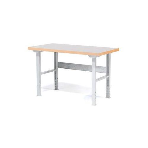Stół roboczy SOLID, 500 kg, 1500x800 mm, winyl, 23230