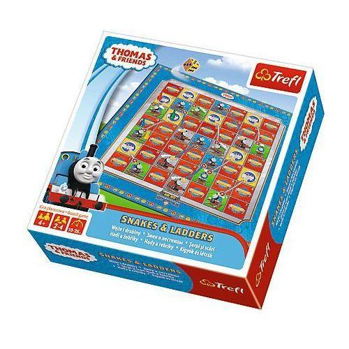 Gra TREFL 01291 Węże i drabiny - Tomek i przyjaciele, 464821