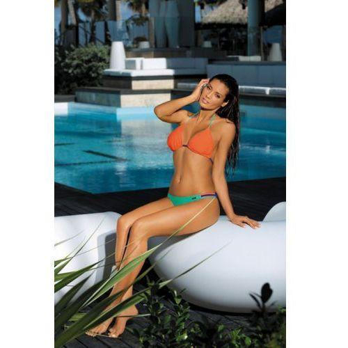 Kostium Kąpielowy Model Elin Baltimora-Maladive-Granatina M-343 Green/Orange