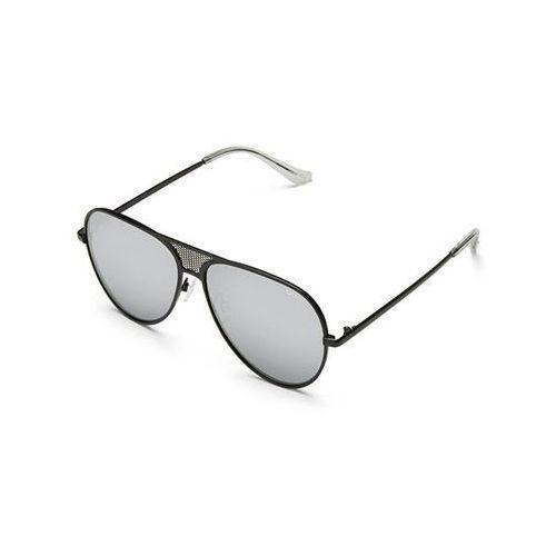 Quay australia Okulary słoneczne qc-000217 quayxkylie iconic blk/slv