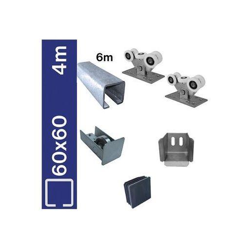 Umakov Zestaw bramy przsuwanej,zn, nylon, 60x60mm