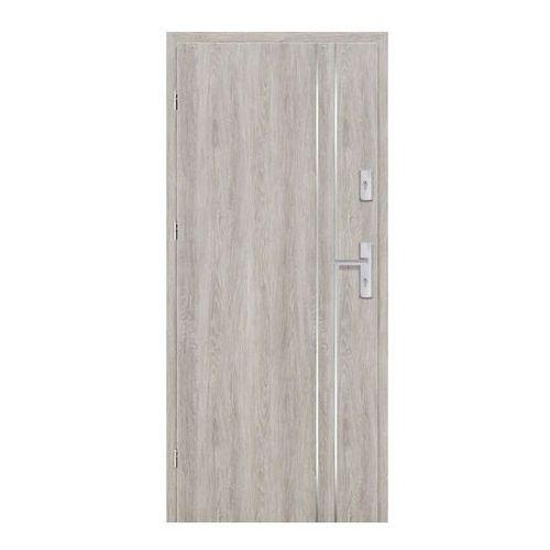 Drzwi wewnątrzklatkowe Ateron Lux 80 lewe dąb szary (5903292061375)