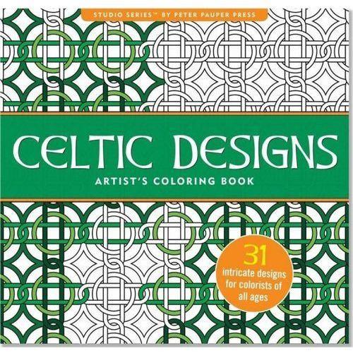 Praca zbiorowa Kolorowanka artystyczna celtyckie wzory