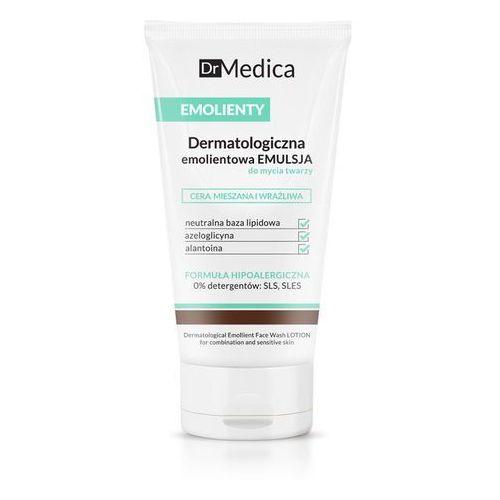 Dermatologiczna emolientowa emulsja do mycia twarzy cera mieszana i wrażliwa dr medica marki Bielenda