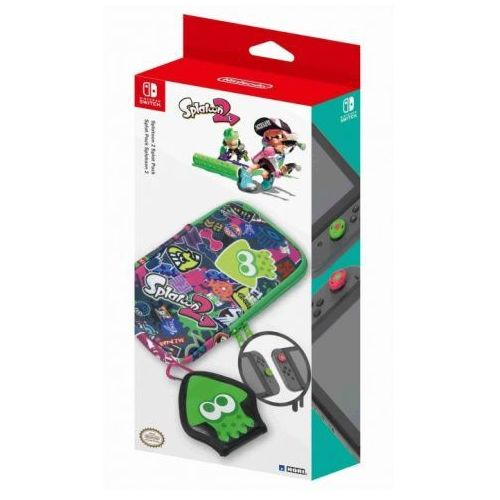 Zestaw akcesoriów HORI NSW-048U Splatoon 2 Splat Pack do Nintendo Switch, NSP235