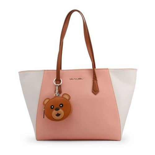 Torebka shopper damska BLU BYBLOS - NARCISO_680010-20, kolor różowy