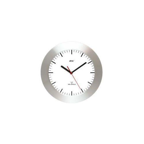 Zegar aluminiowy szeroka ramka radiowy DCF #2