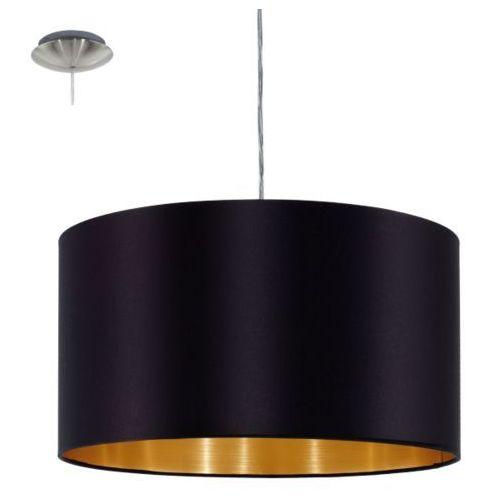 Eglo Lampa wisząca maserlo czarna - 38 cm, 31599