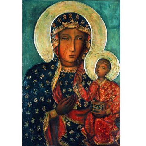 Czarna Madonna reprodukcja obrazu Matki Boskiej Częstochowskiej z Dzieciątkiem